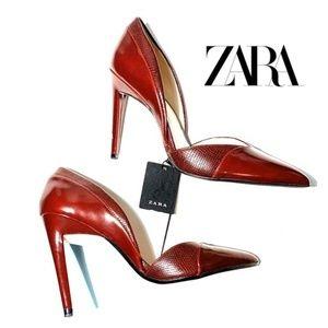 Zara   NWT D'Orsay Heels